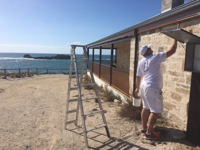 Exterior painting of Heritage Home Perth