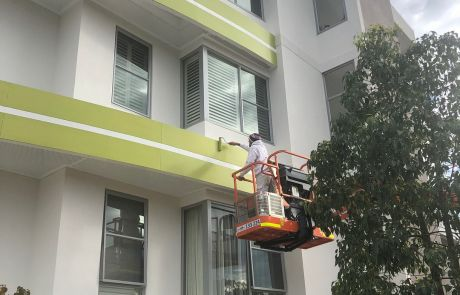 Floreat painting services apartment block exterior